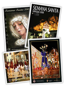 Carteles de Semana Santa
