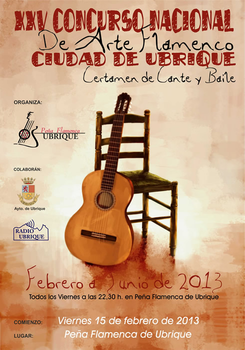 cartel_25_concurso_arte_flamenco_ubrique
