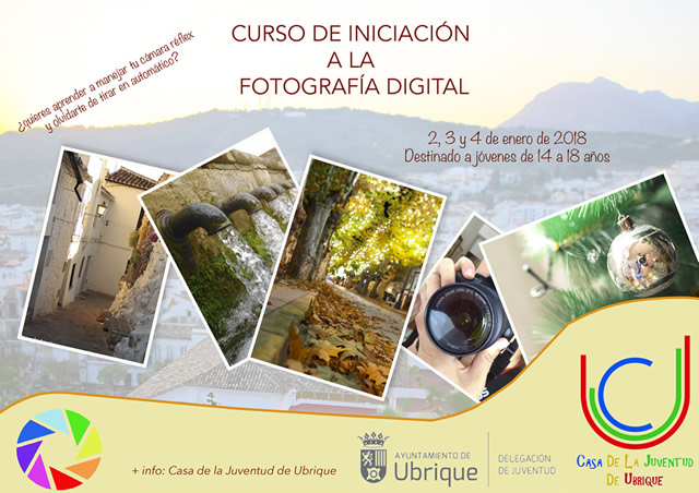 cartel curso fotografia digital p