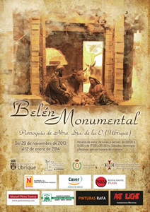 cartel belen monumental p