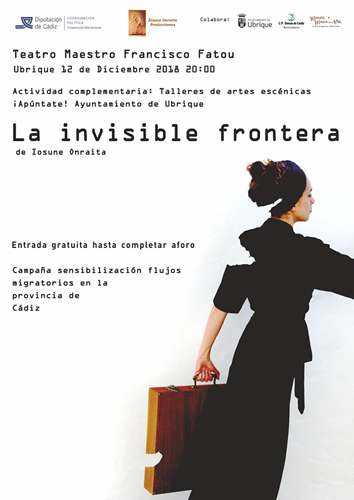 cartel teatro invisible frontera p