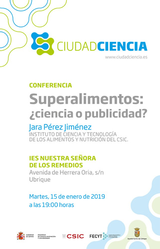 cartel conferencia superalimentos p