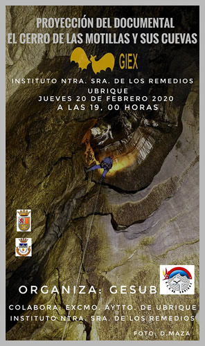 cartel documental cerro motillas cuevas p
