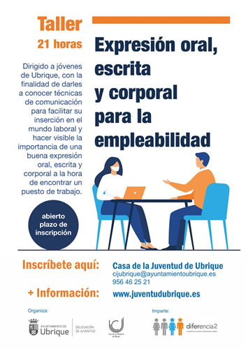 cartel taller expresion empleabilidad p